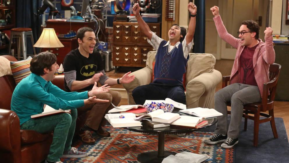 Sitcoms wie 'Big Bang Theory' laufen in Deutschland in Dauerschleife