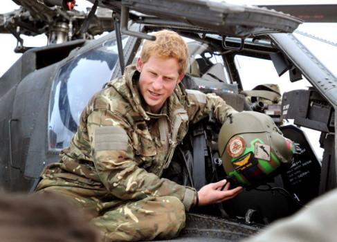 Hat bereits Kampferfahrung: Prinz Harry