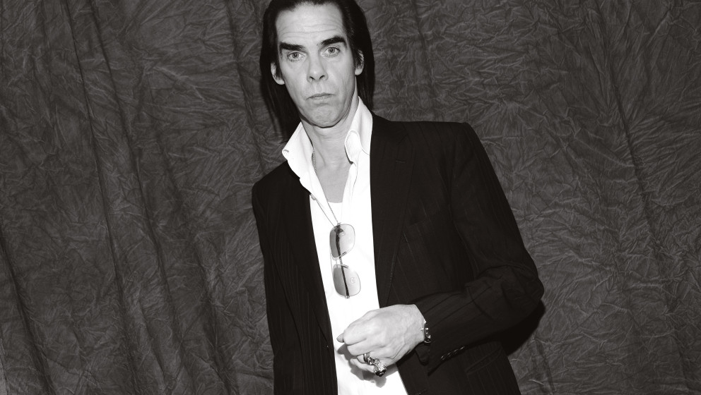 PARK CITY, UT - JANUARY 20: (EDITORS NOTE: Image has been converted to black and white.) Nick Cave attends the '20,000 Days O