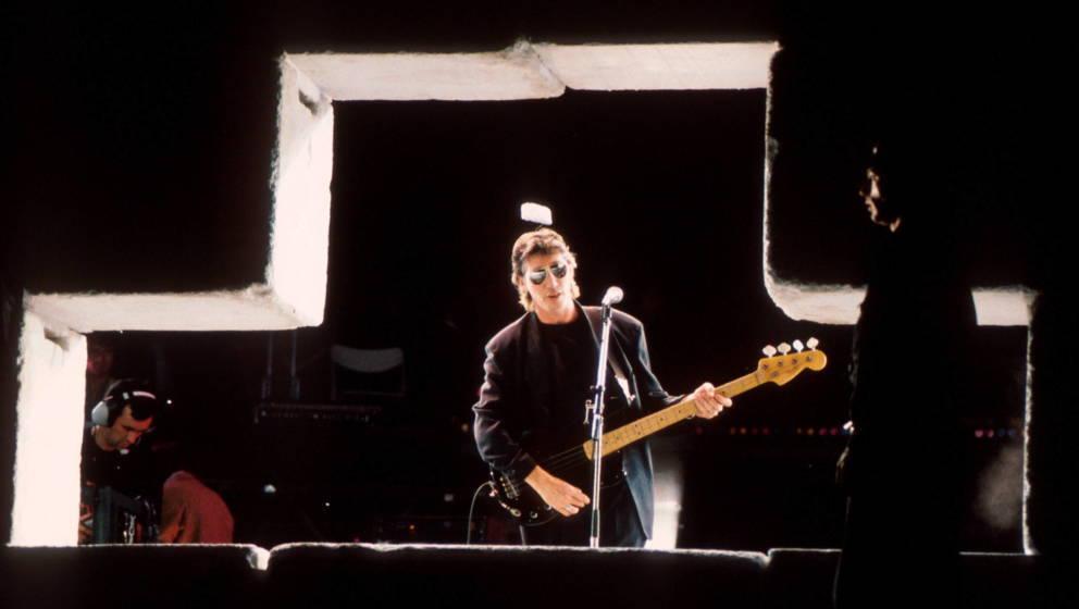 """Roger Waters und """"The Wall"""" in Berlin am 21. Juli 1990"""