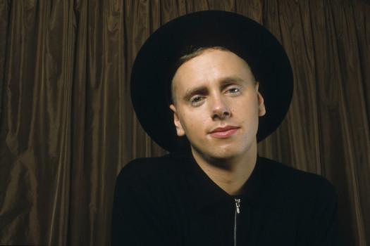 Martin L. Gore von Depeche Mode im November 1986 in Koeln