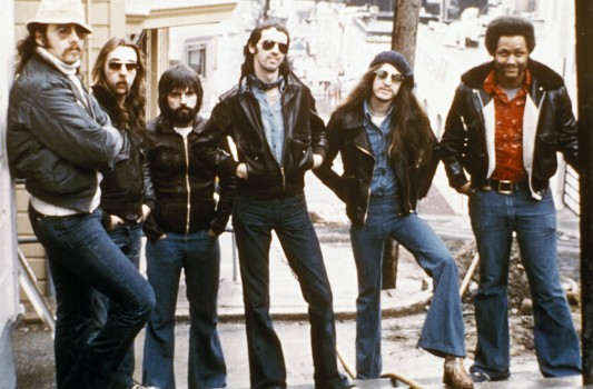 UNSPECIFIED - JANUARY 01:  Photo of DOOBIE BROTHERS; Posed group portrait of the Doobie Brothers  (Photo by RB/Redferns)