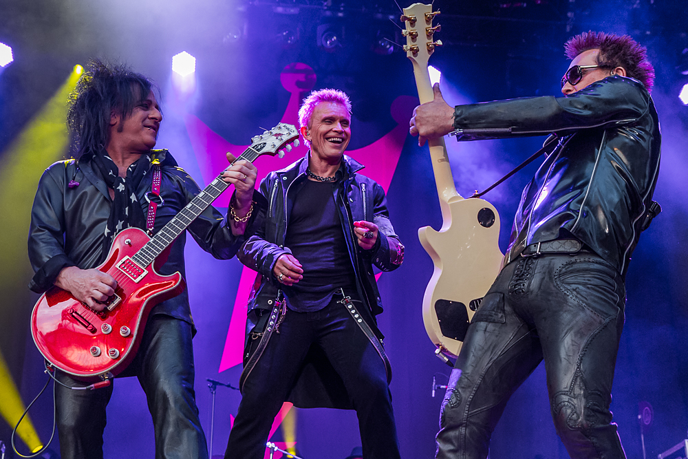 Billy Idol live beim Sommernachstraum München