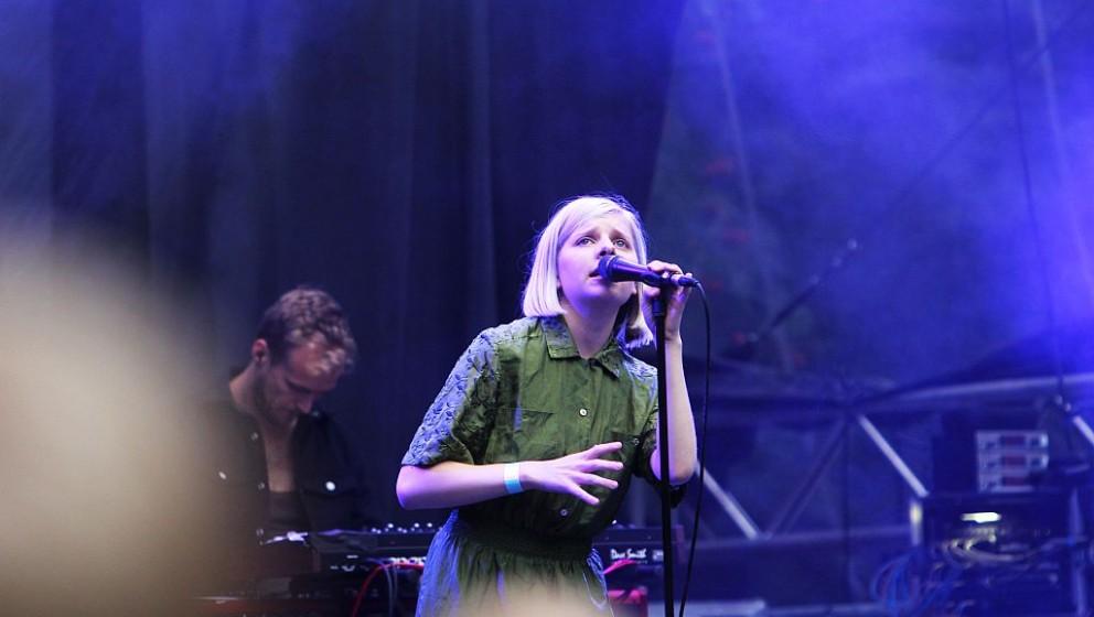 Aurora beim Appletree Garden Festival