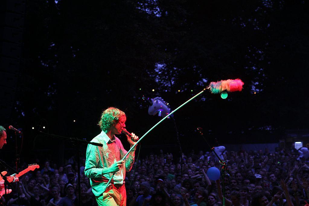 Erlend Øye beim Appletree Garden Festival