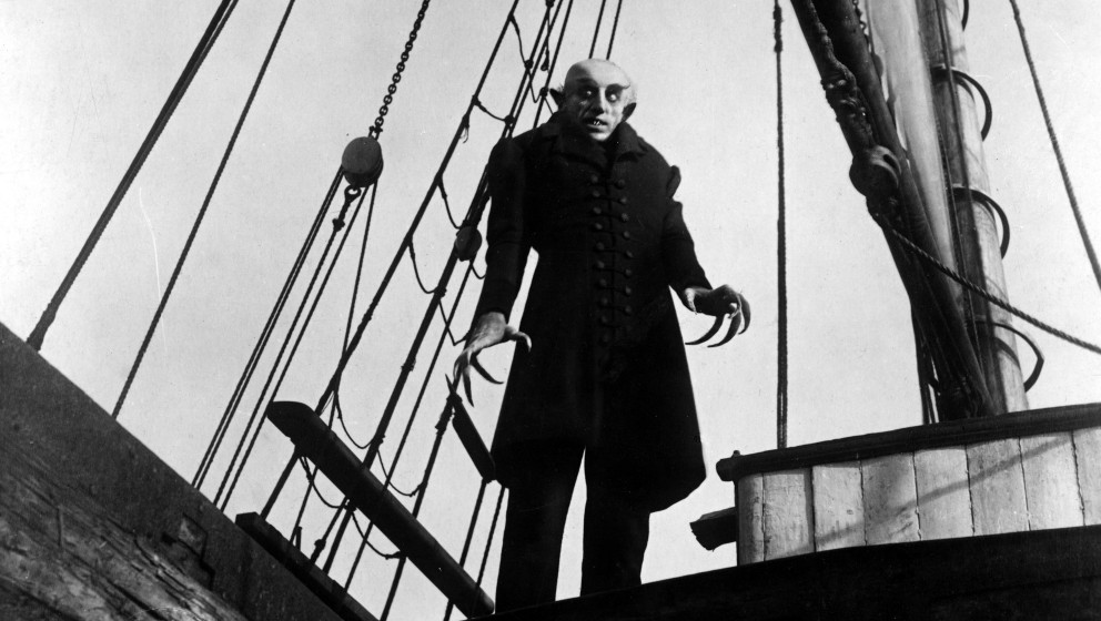 Nosferatu is a 1922 German Expressionist horror film, directed by F. W. Murnau, starring Max Schreck as the vampire Count Orl