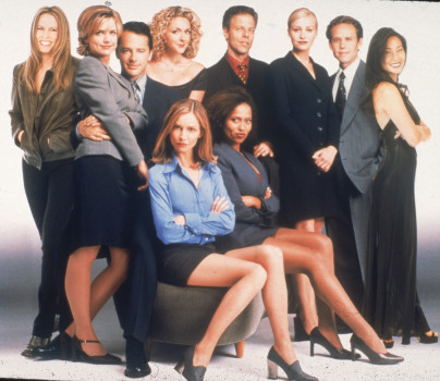 "Promo Portrait of ""Ally McBeal"" Cast"