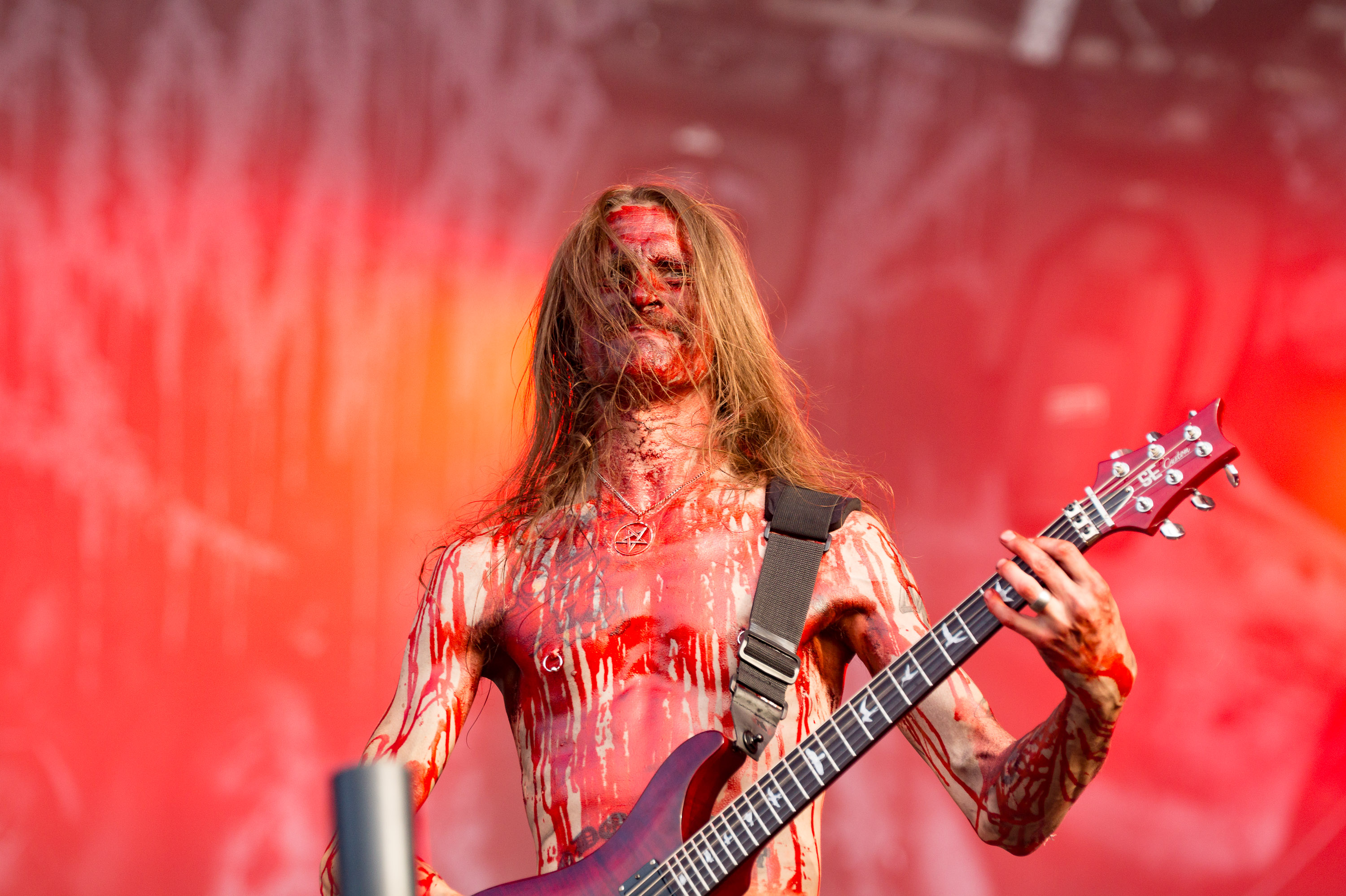 W.O.A 2015 Wacken Open Air Festival am 01.08.15 mit  Bloodbath