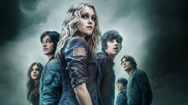 'The 100' mit Eliza Taylor