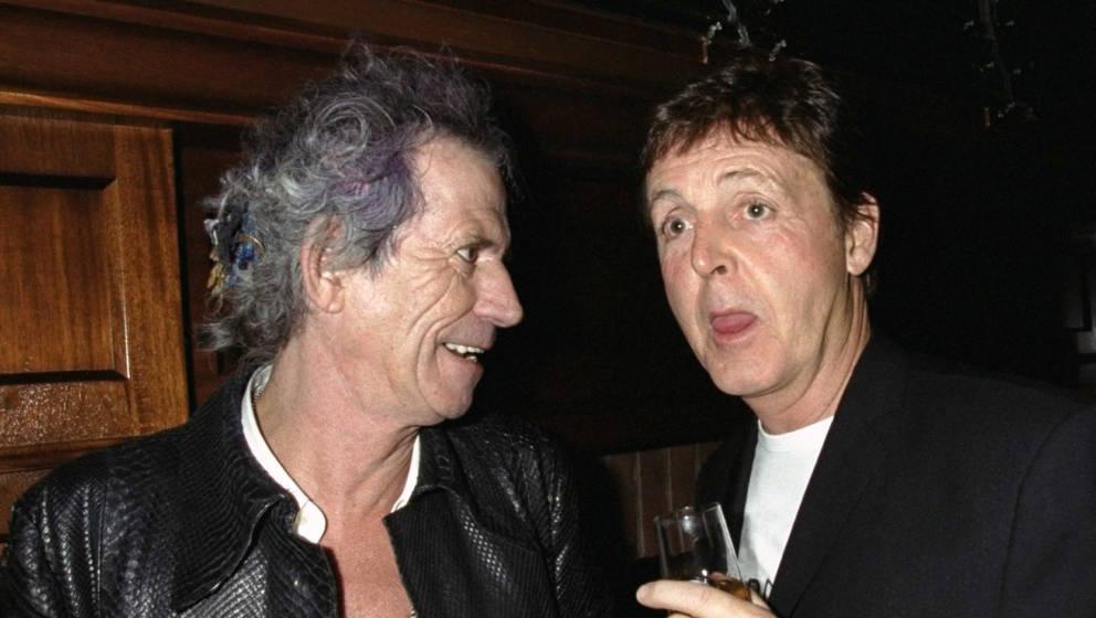 Keith Richards und Paul Mccartney