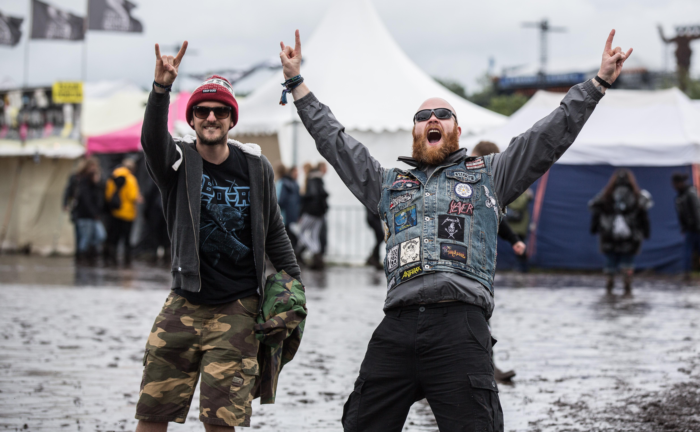 So ausgelassen feierten die Fans beim Wacken Open Air 2016