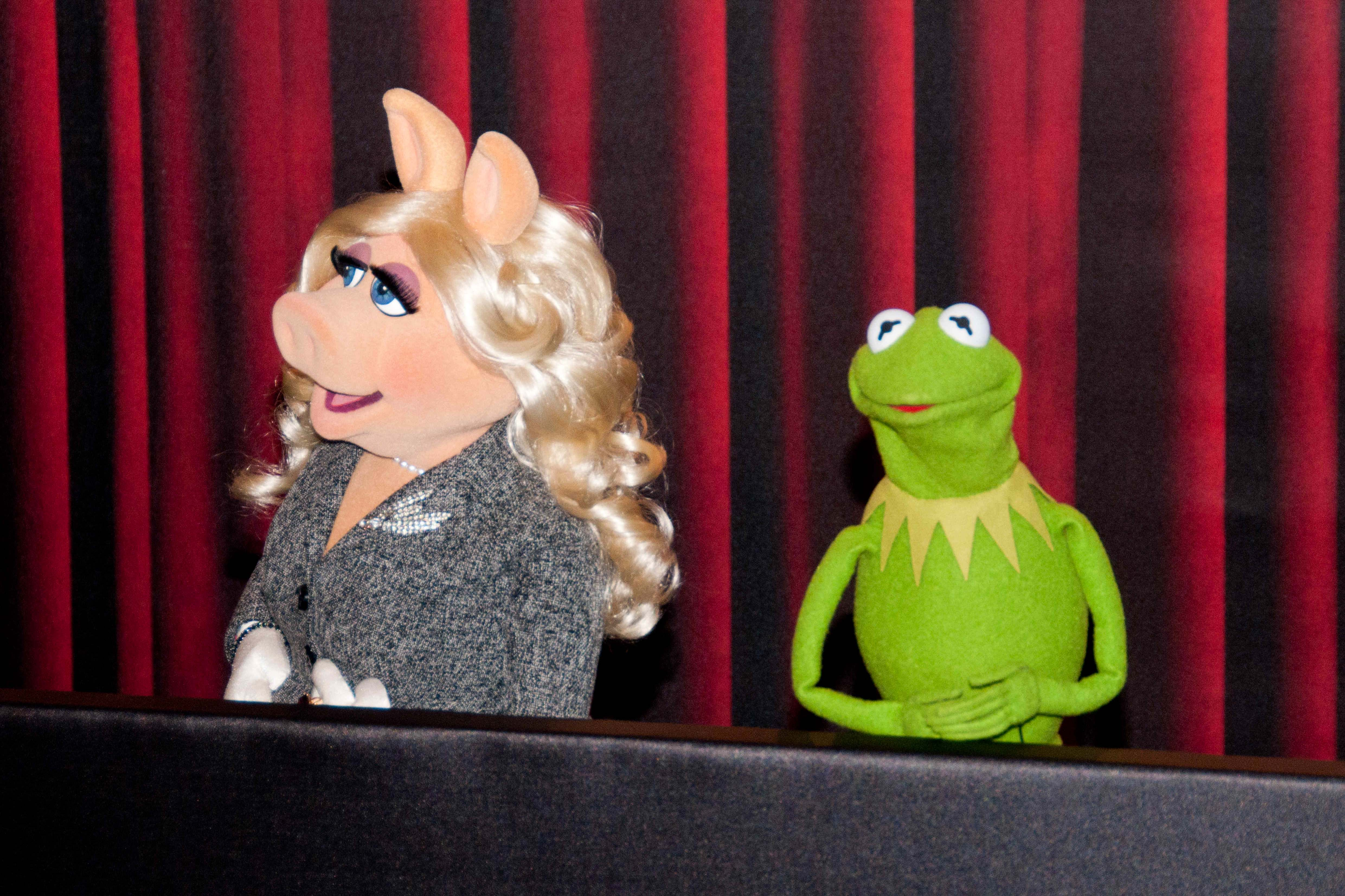 Miss Piggy und Kermit haben sich getrennt. Aber der Frosch hat schon eine neue Partnerin