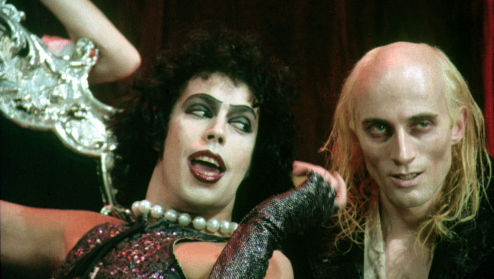 THE ROCKY HORROR PICTURE SHOW  [US / BR 1975]  TIM CURRY, RICHARD O'BRIEN     Date: 1975 (Mary Evans Picture Library) Keine W