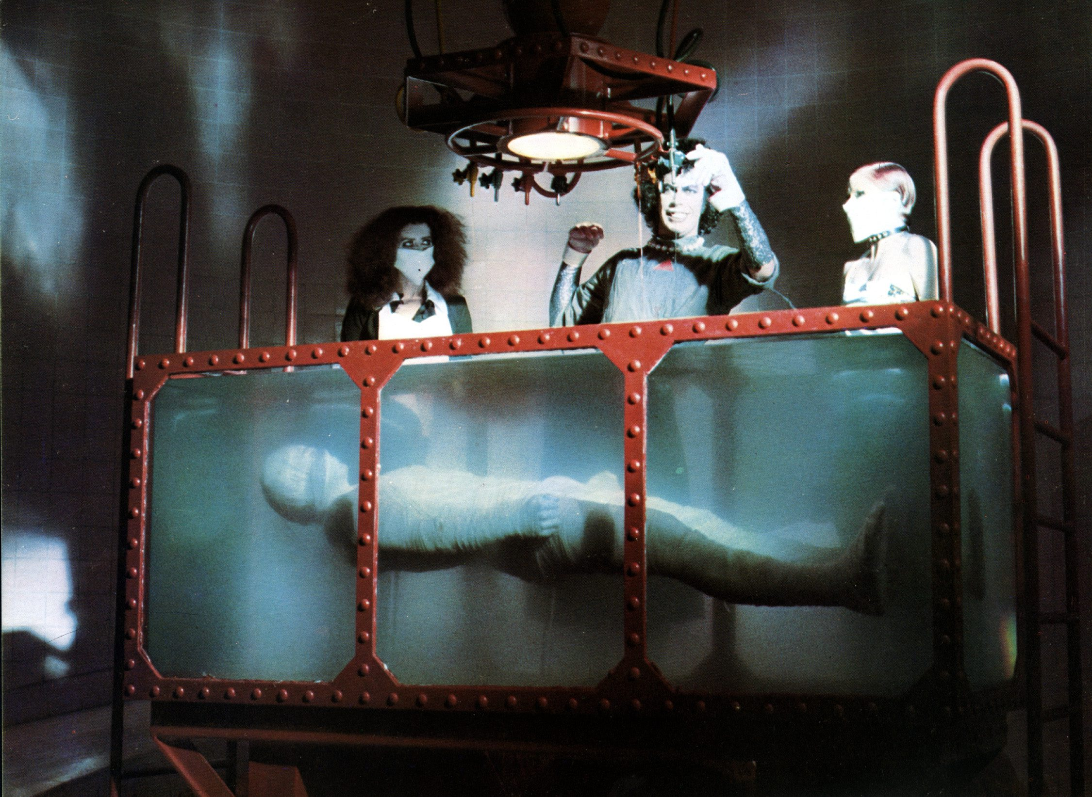 THE ROCKY HORROR PICTURE SHOW [BR / US 1975] THE ROCKY HORROR PICTURE SHOW [BR / US 1975]  PATRICIA QUINN, TIM CURRY, NELL CA