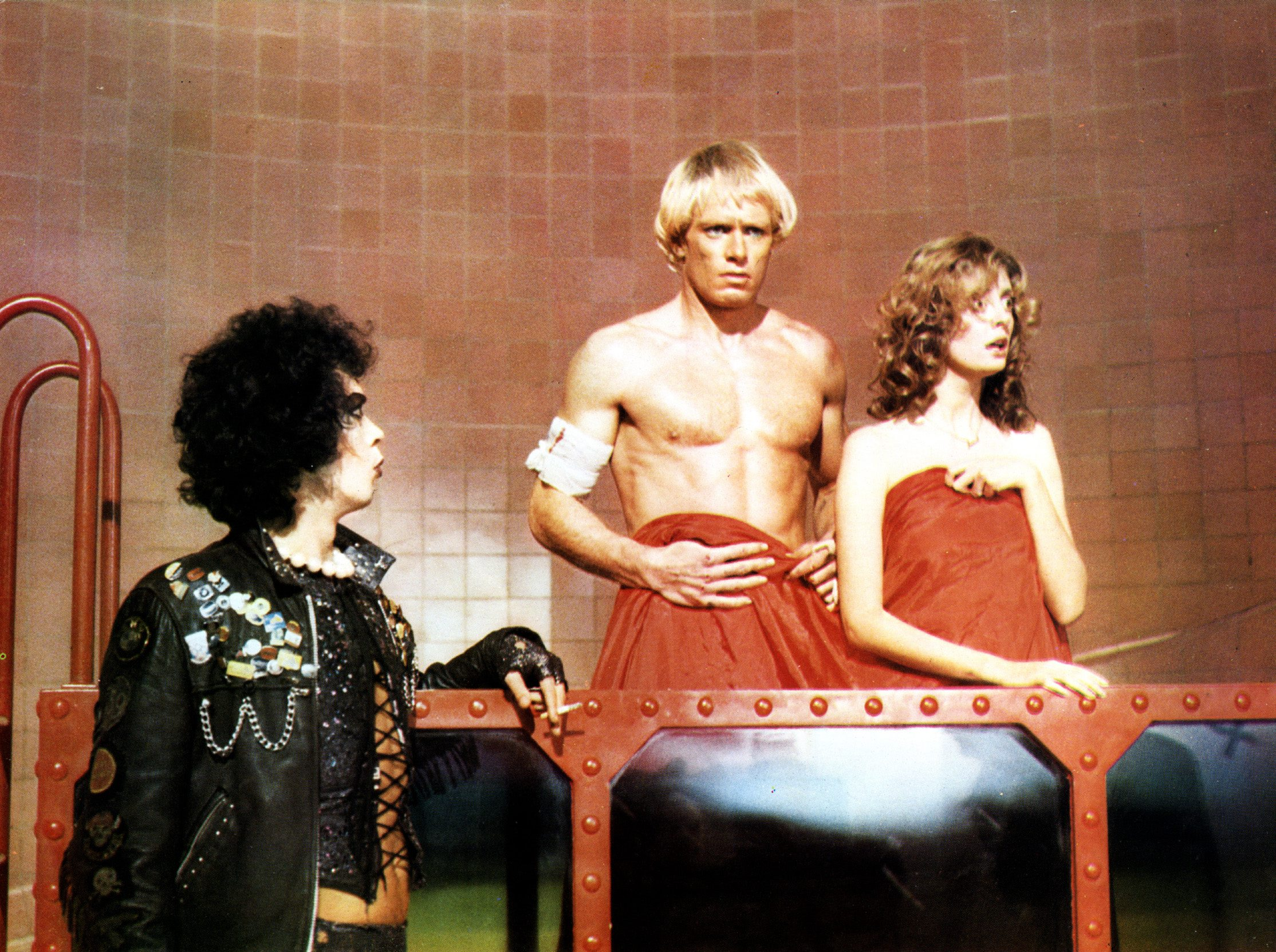 THE ROCKY HORROR PICTURE SHOW [BR / US 1975]  TIM CURRY, PETER HINWOOD, SUSAN SARANDON     Date: 1975 (Mary Evans Picture Lib