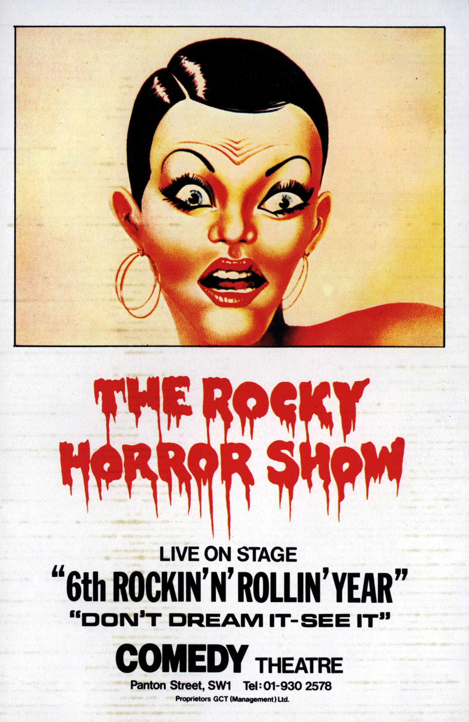 THE ROCKY HORROR PICTUTE SHOW THEATRE     Date:  (Mary Evans Picture Library) Keine Weitergabe an Drittverwerter., Nur für r