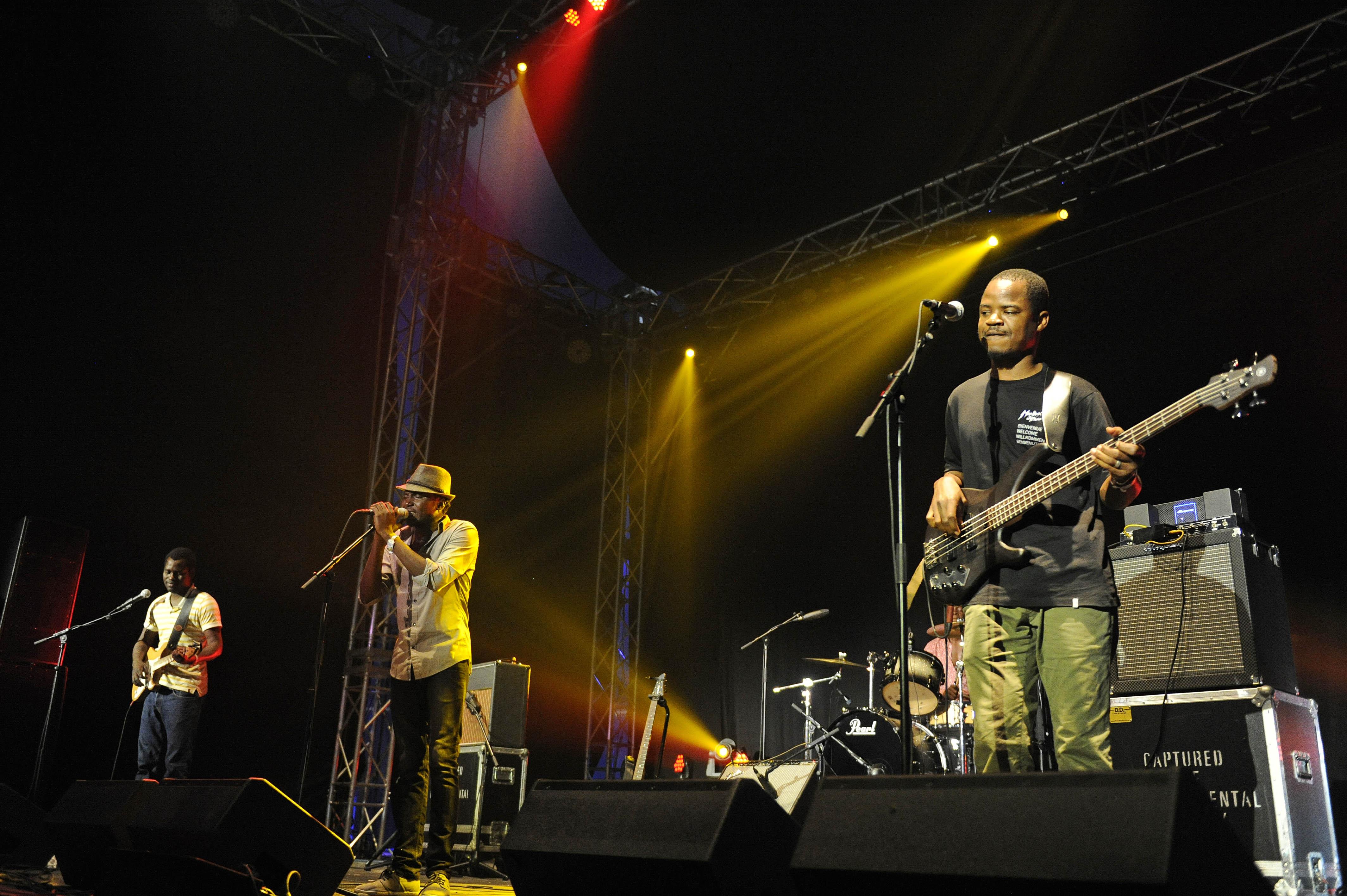 Songhoy Blues - die Blues Band aus Mali live beim A Summer´s Tale Open Air Festival 2015: Premiere des Festivals in der Lu