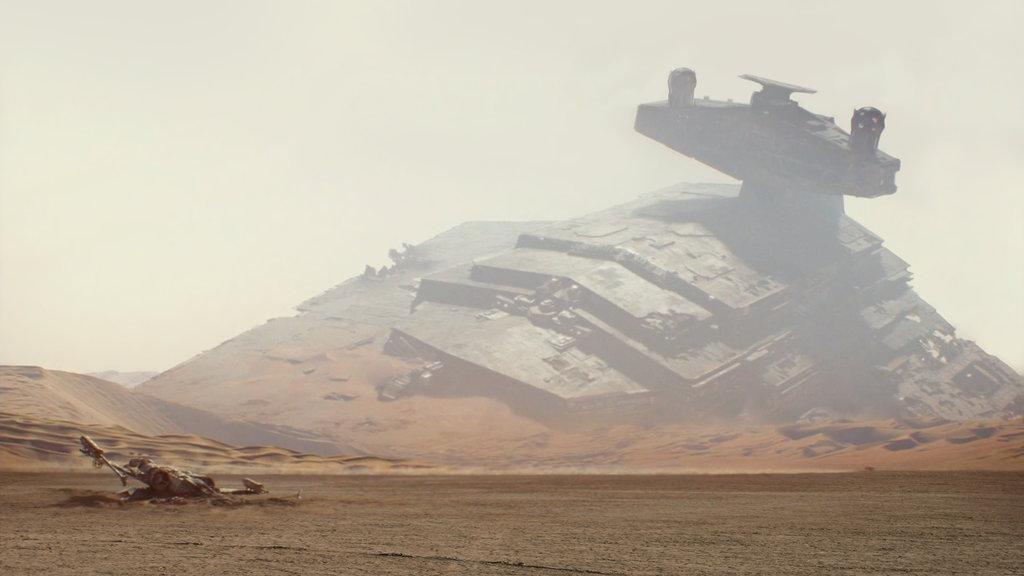 Ein neuer Teaser zeigt neue Bilder aus 'Star Wars VII'