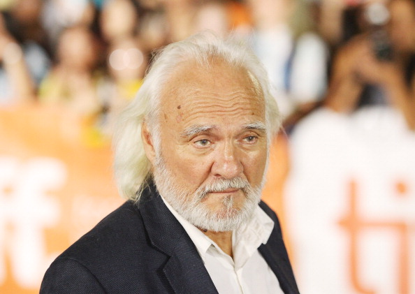 TORONTO, ON - SEPTEMBER 11:  Kenneth Welsh arrives at 'The Art Of The Steal' premiere during the 2013 Toronto International F
