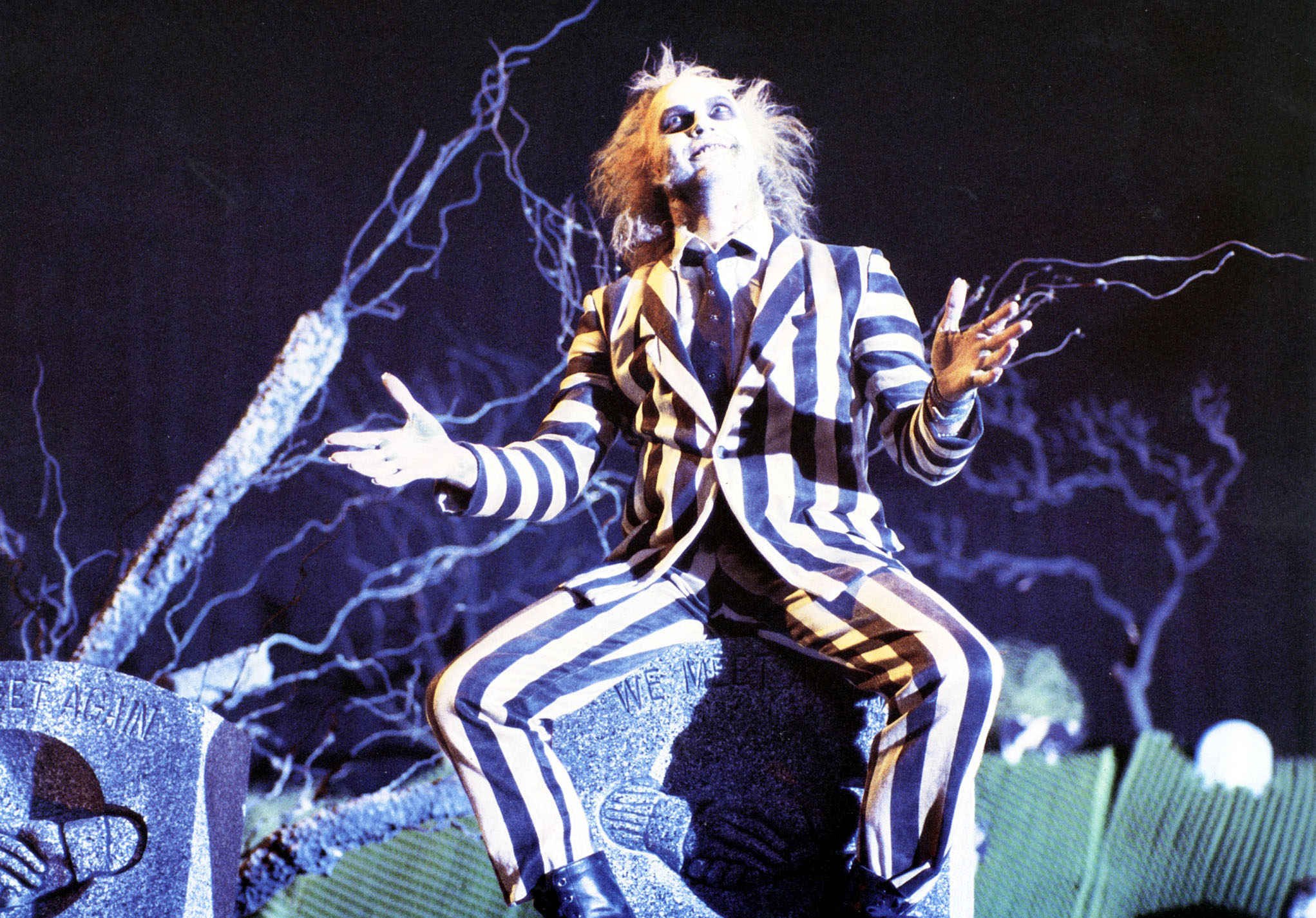 BEETLEJUICE [US 1988]   MICHAEL KEATON     Date: 1988 (Mary Evans Picture Library) Keine Weitergabe an Drittverwerter., Nur f