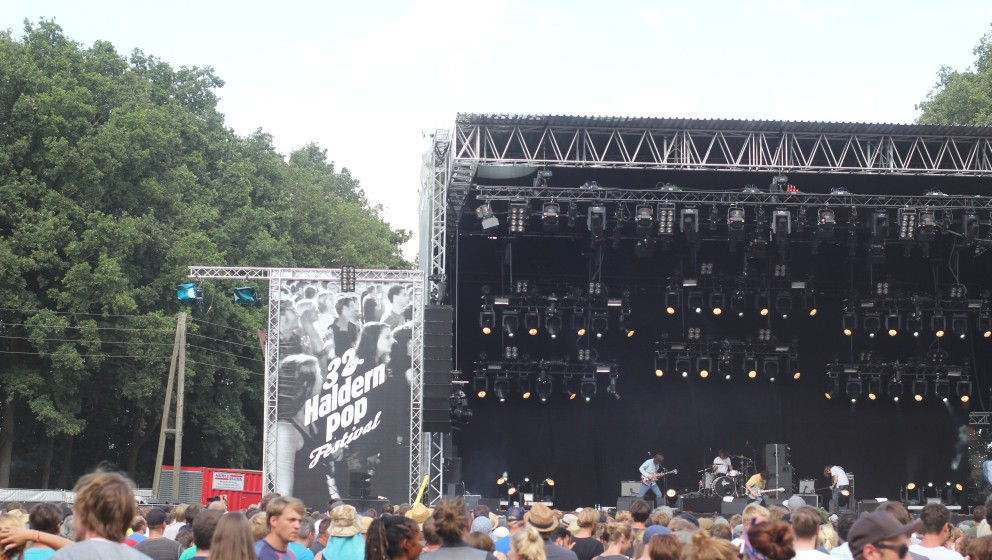 So war es beim 32. Haldern Pop Festival