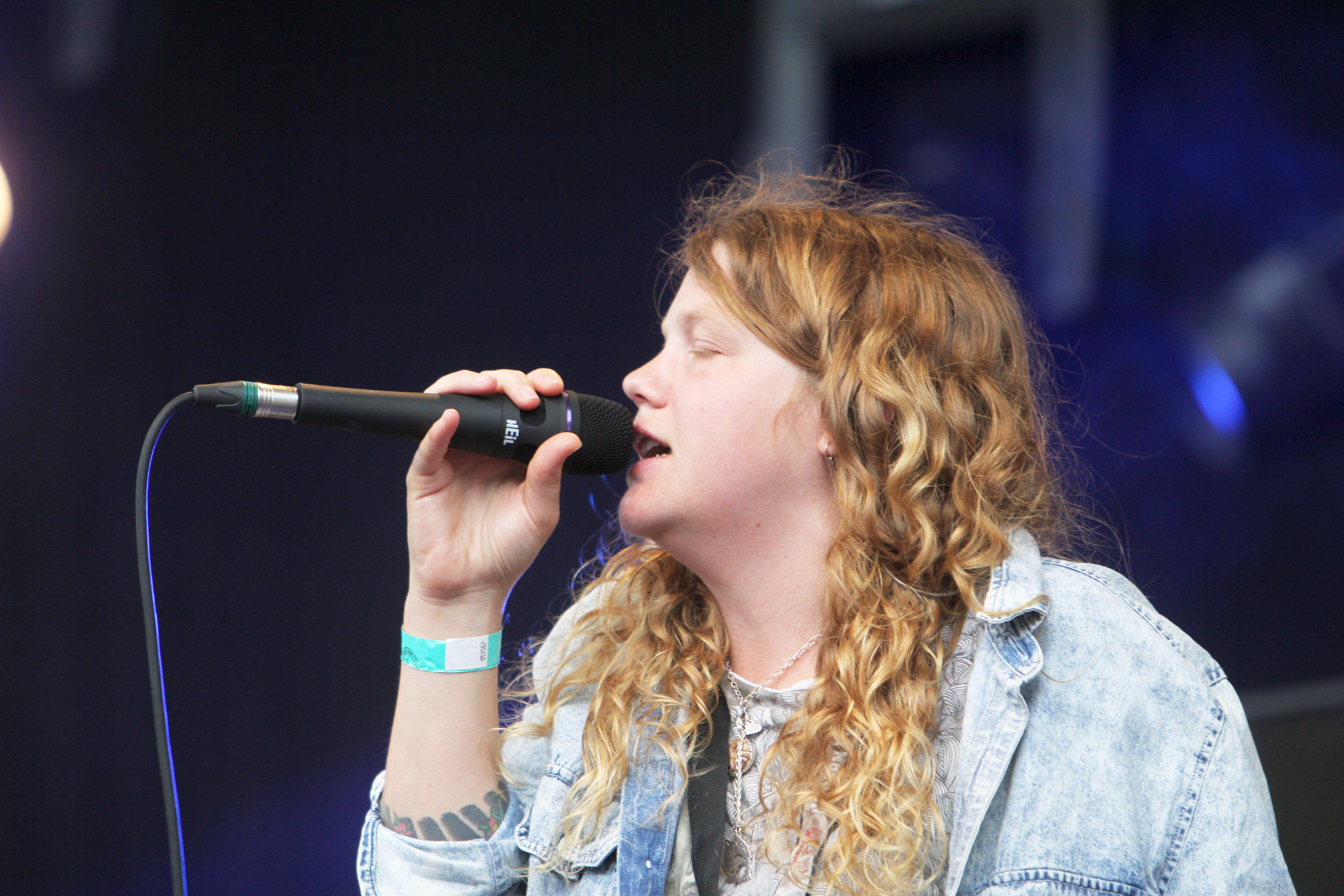 Kate Tempest live beim Haldern Pop Festival 2015