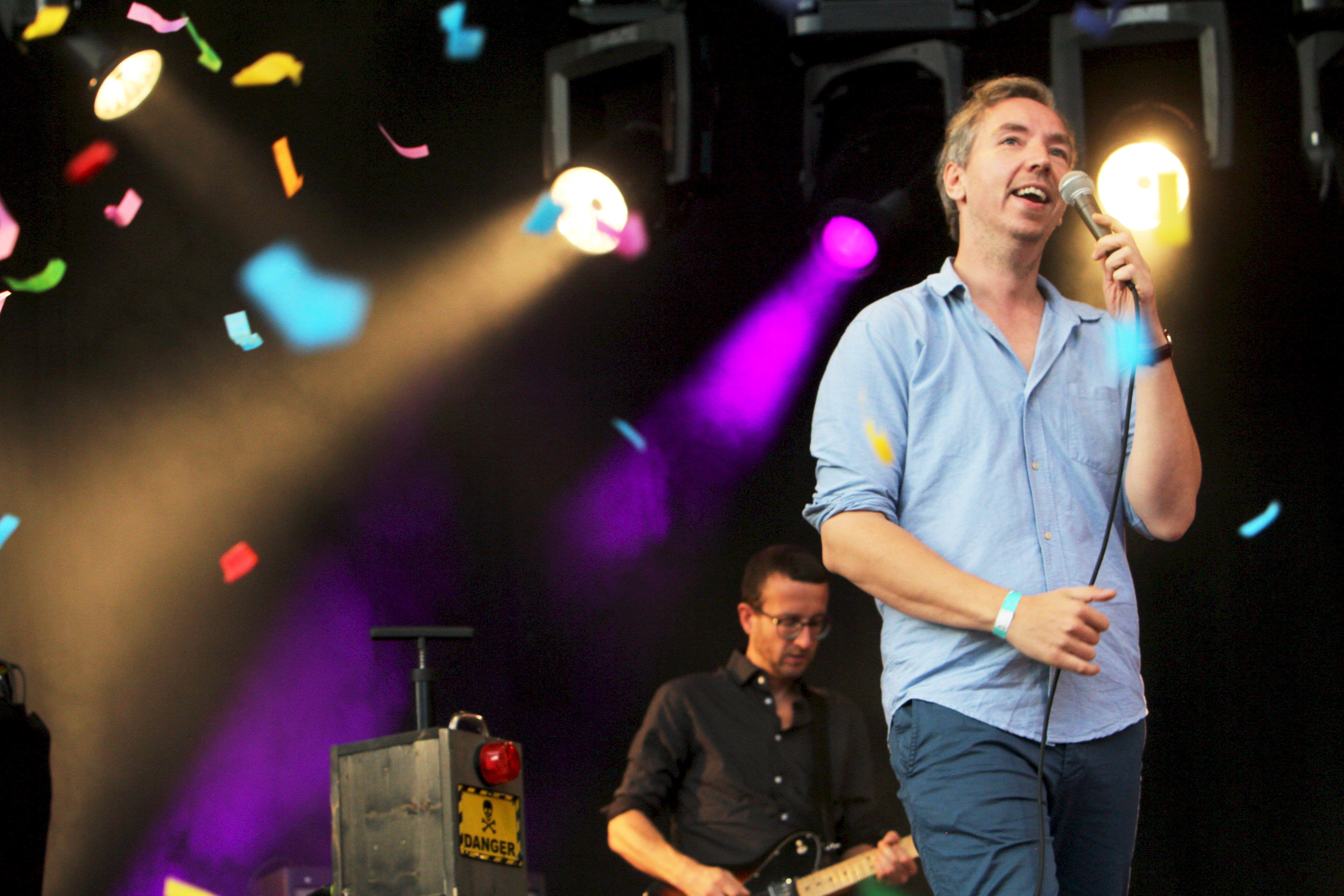 Olli Schulz live beim Haldern Pop Festival 2015