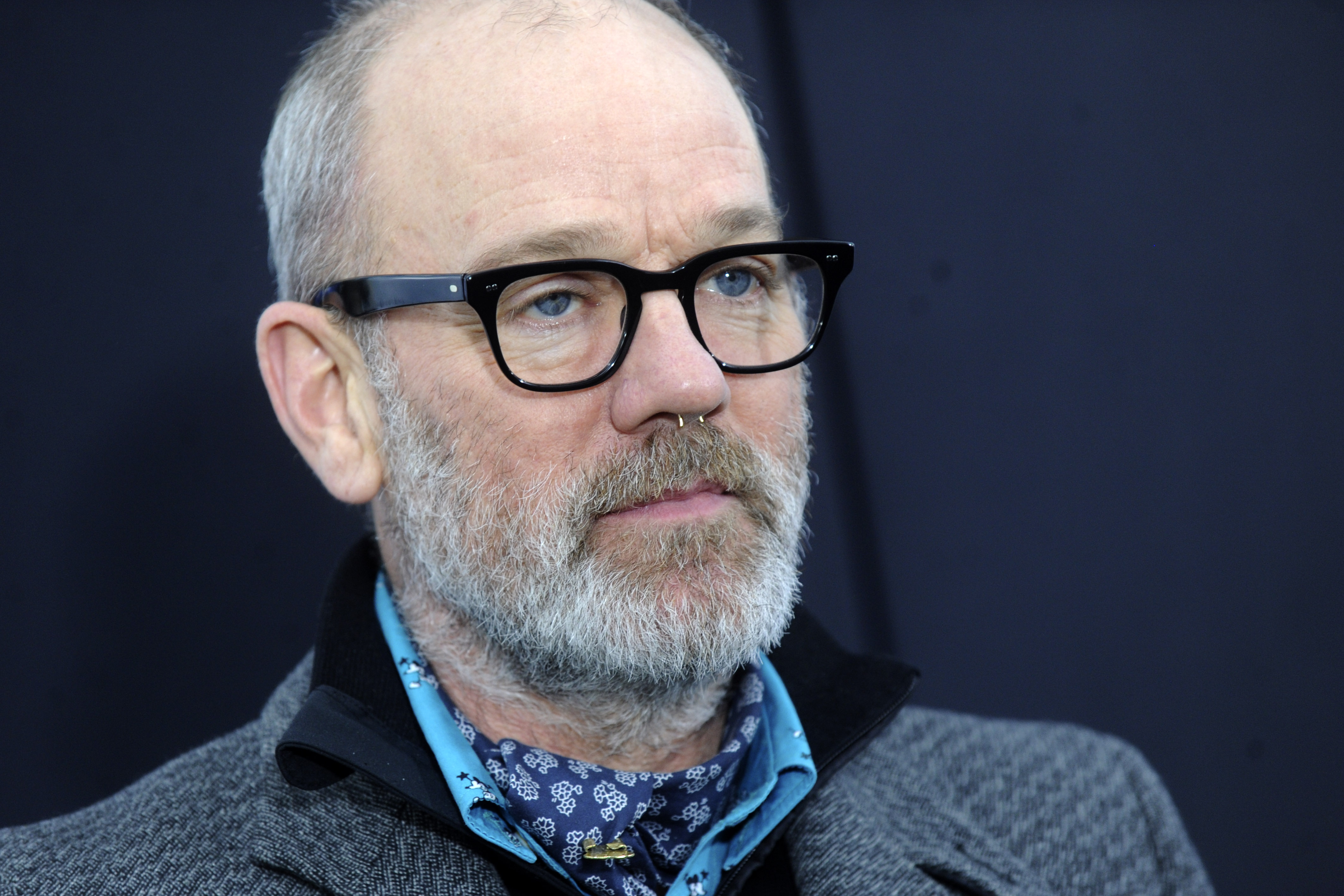 Michael Stipe attending the 'Chappie' New York Premiere at AMC Lincoln Square Theater on March 4, 2015 in New York City