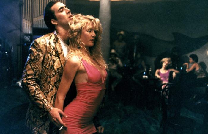 WILD AT HEART, Nicolas Cage, Laura Dern, 1990, (c) Samuel Goldwyn