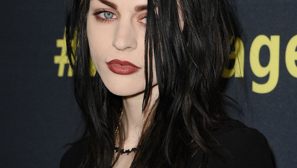 HOLLYWOOD, CA - APRIL 21:  Frances Bean Cobain attends the premiere of HBO Documentary Films' 'Kurt Cobain: Montage Of Heck'