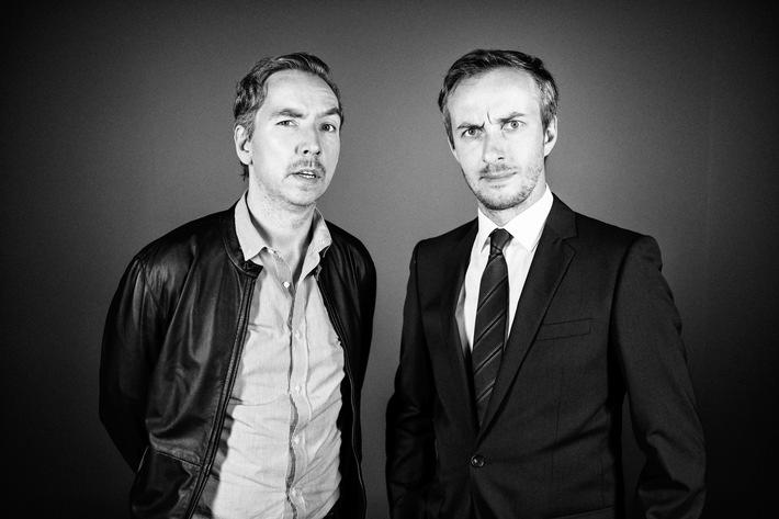 Ab 2016 gehen Jan Böhmermann und Olli Schulz bei ZDFneo gemeinsam auf Sendung
