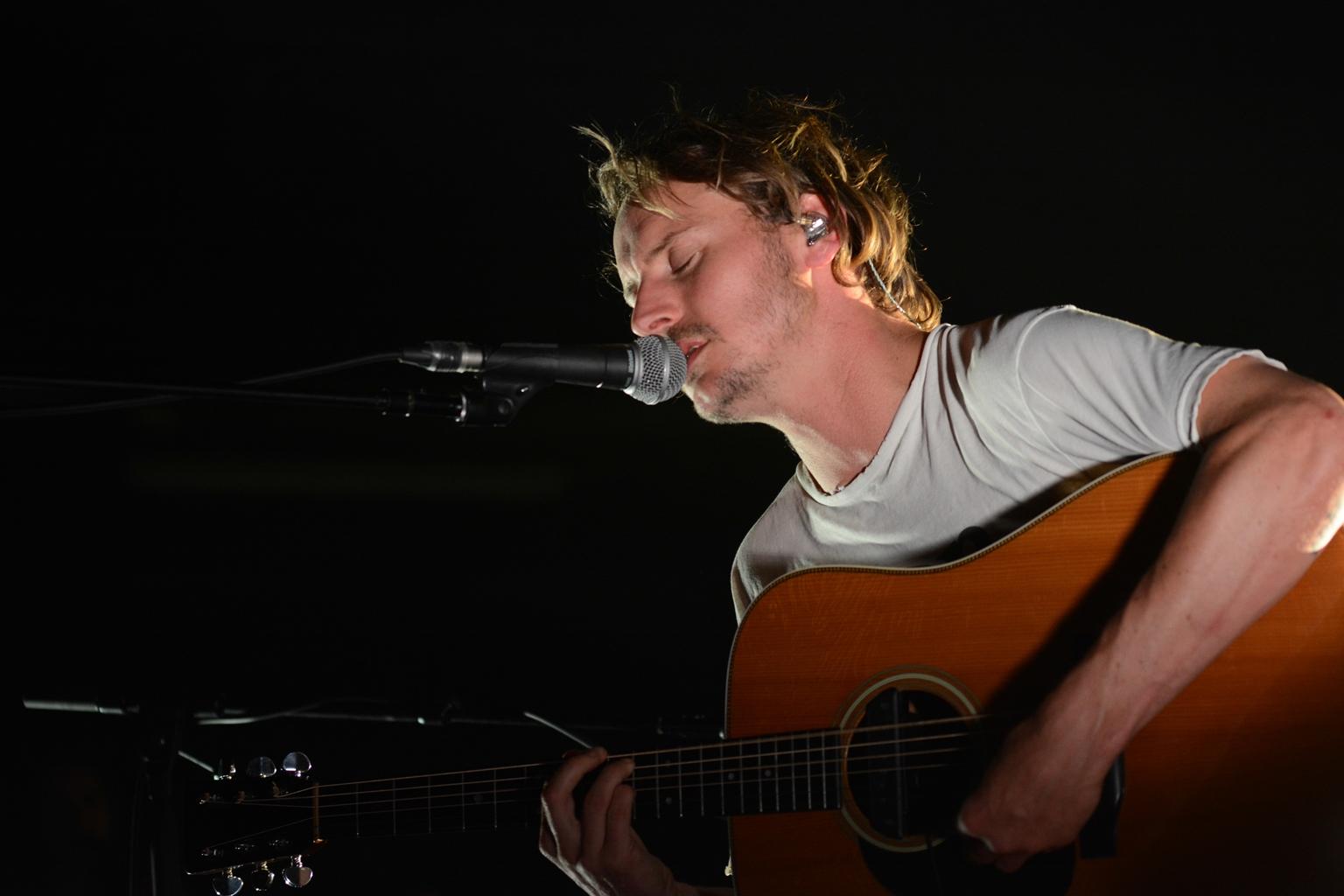 Ben Howard live beim Loreley Festival