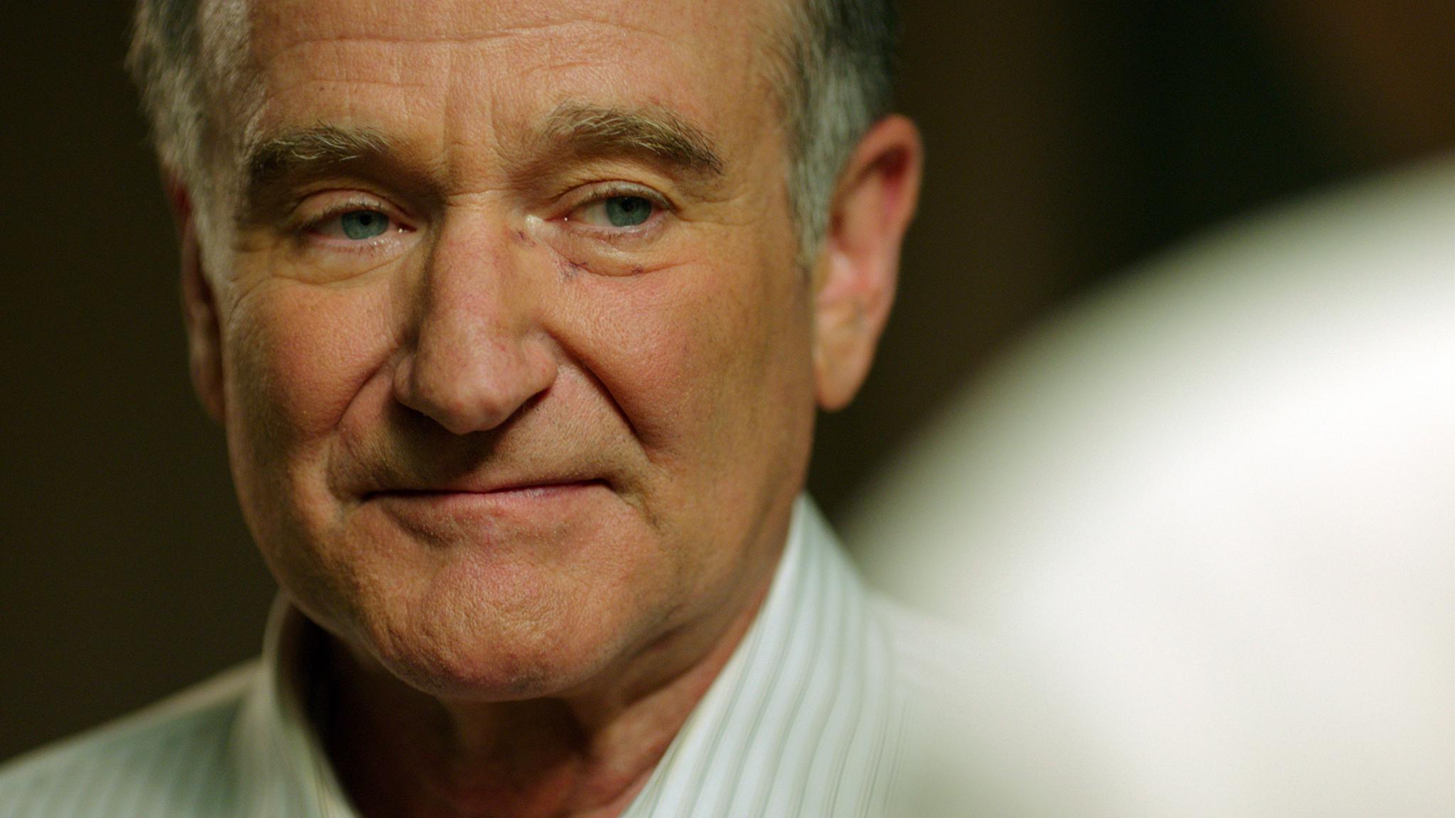Für Iron-Maiden-Sänger Bruce Dickinson ein großes Vorbild: Robin Williams