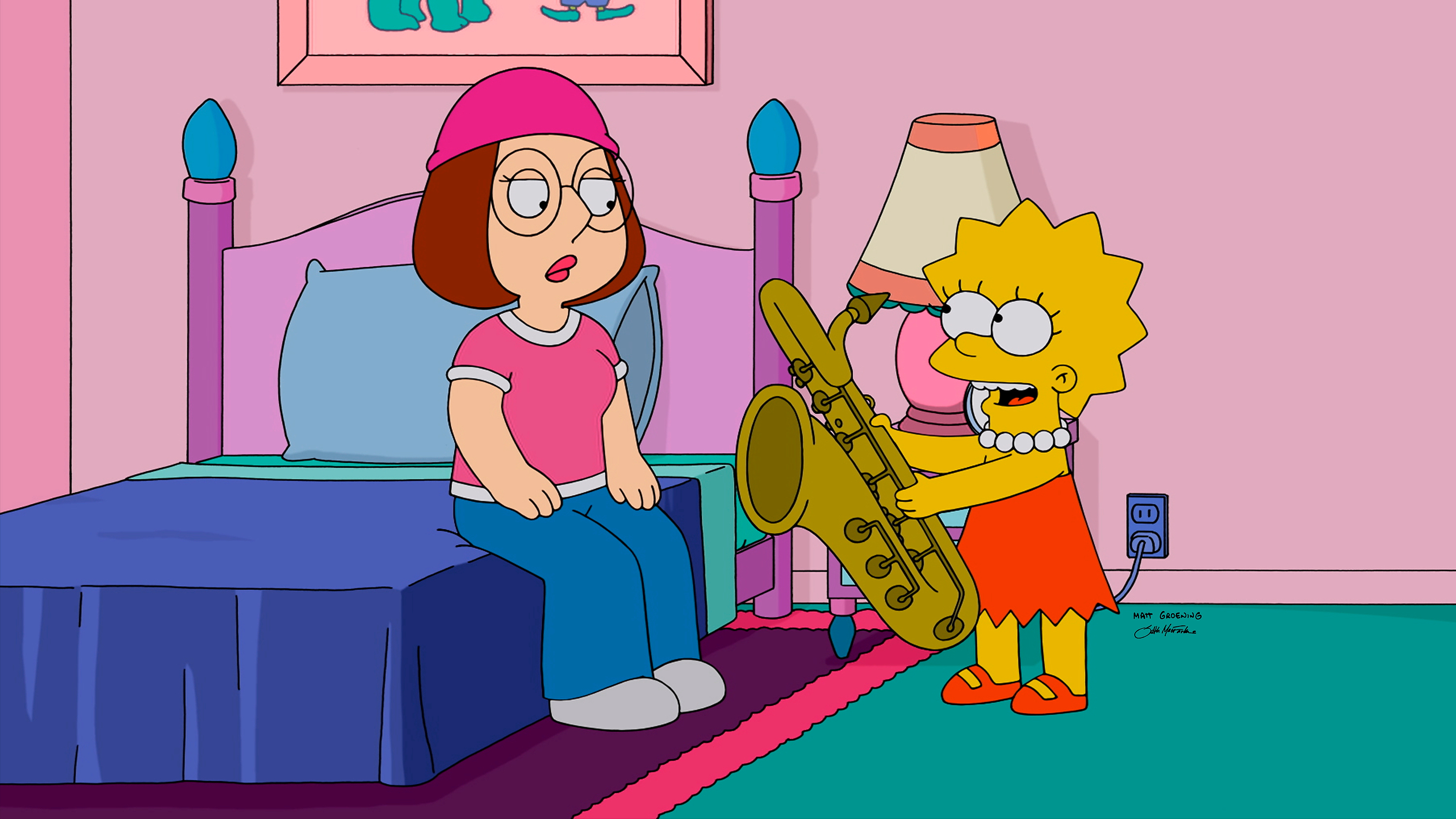 FAMILY GUY: Guest voice Yeardley Smith on 'The Simpsons Guy' episode of FAMILY GUY airing Sunday, September 28, 2014 (9:00-10