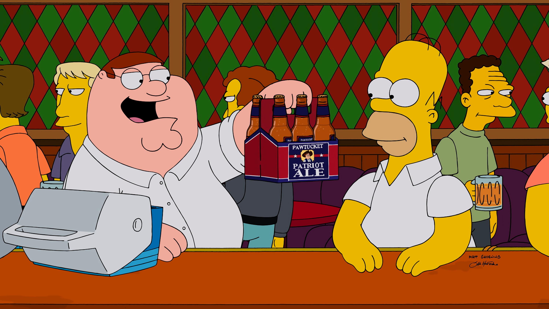 FAMILY GUY: The season premiere 'The Simpsons Guy' episode of FAMILY GUY airing Sunday, September 28, 2014 (9:00-10:00 PM ET/
