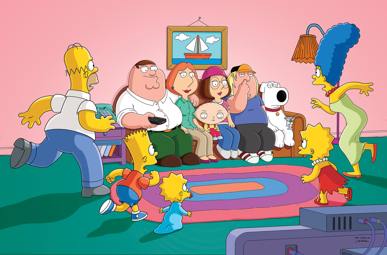 'The Simpsons' und 'Family Guy' - gemeinsam stark im TV