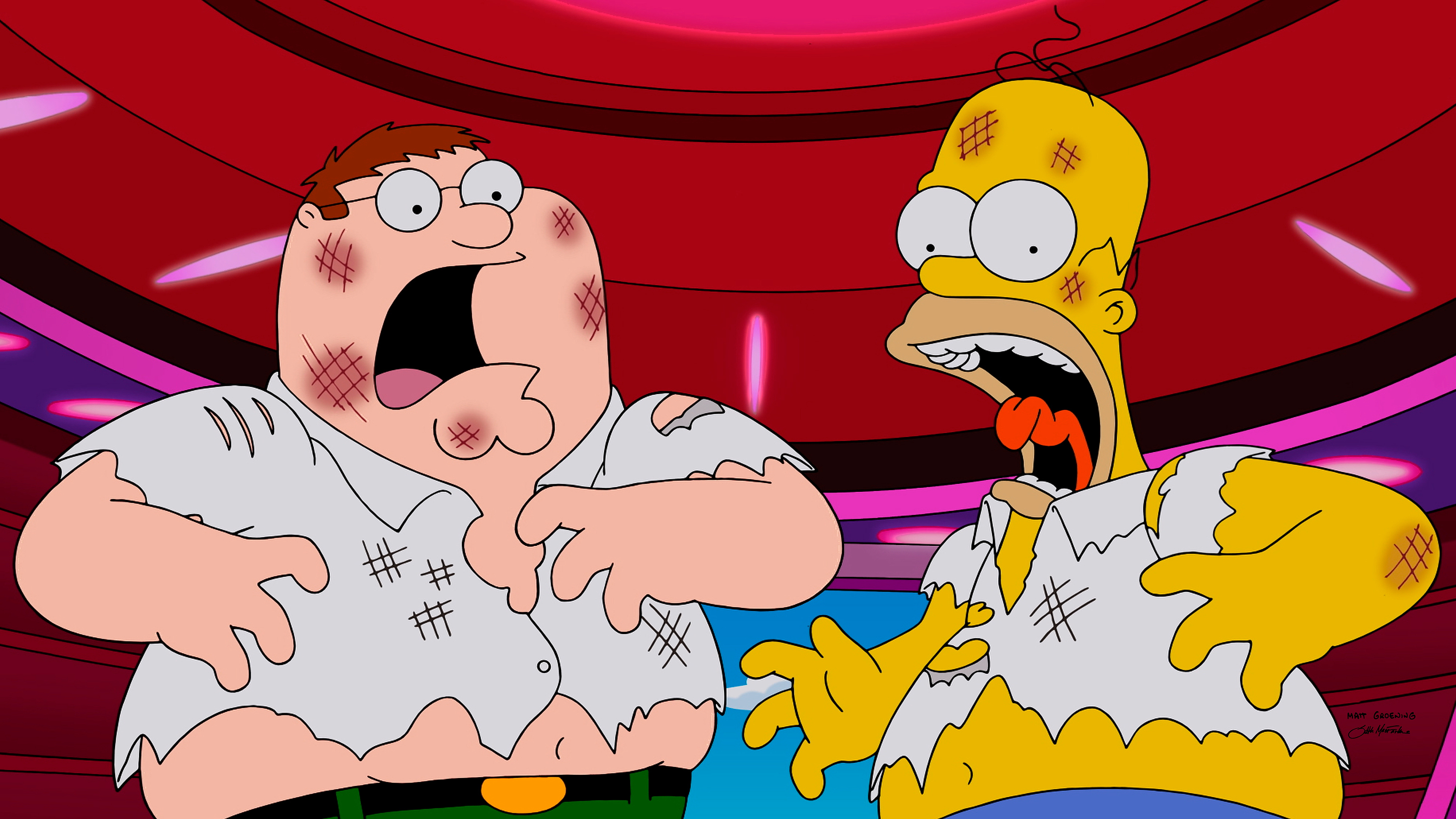 FAMILY GUY: 'The Simpsons Guy' episode of FAMILY GUY airing Sunday, September 28, 2014 (9:00-10:00 PM ET/PT) on FOX. (Photo b