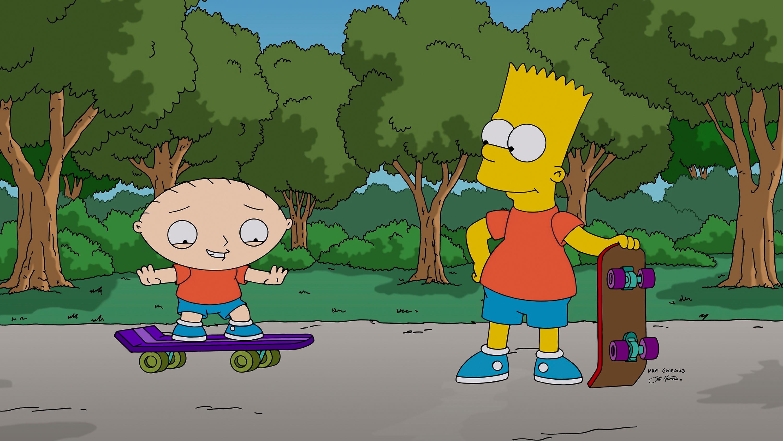 FAMILY GUY: 'The Simpsons Guy' episode of FAMILY GUY airing Sunday, September 28, 2014 (9:00-10:00 PM ET/PT) on FOX. (Photo b