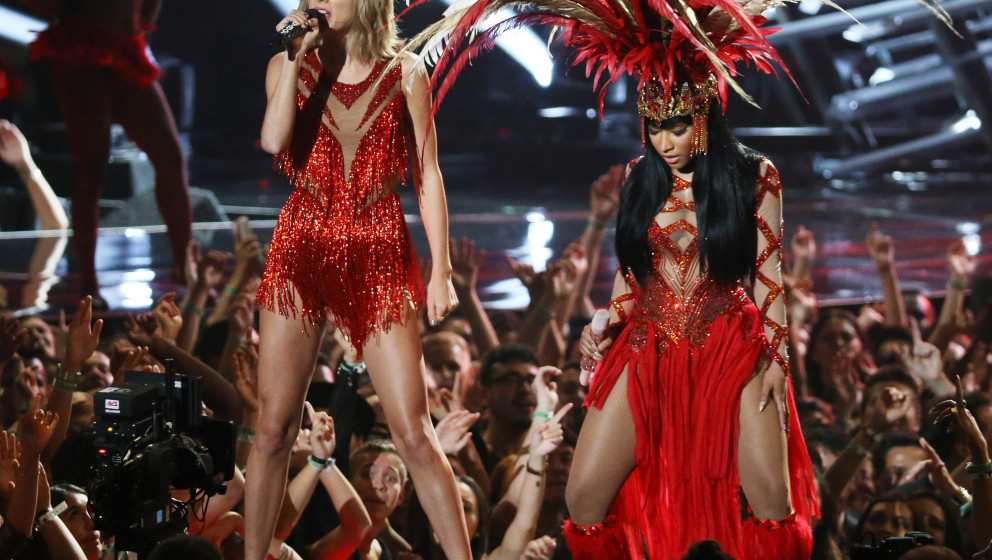 Taylor Swift und Nicki Minaj