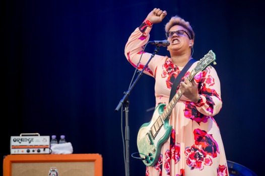 """Don't wanna fight"": Alabama Shakes beim ""T in the Park""-Festival"