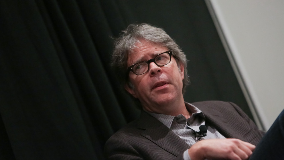 NEW YORK, NY - MAY 27:  Author Jonathan Franzen speaks on stage during Opening Day Spotlight: In Conversation with Jonathan F