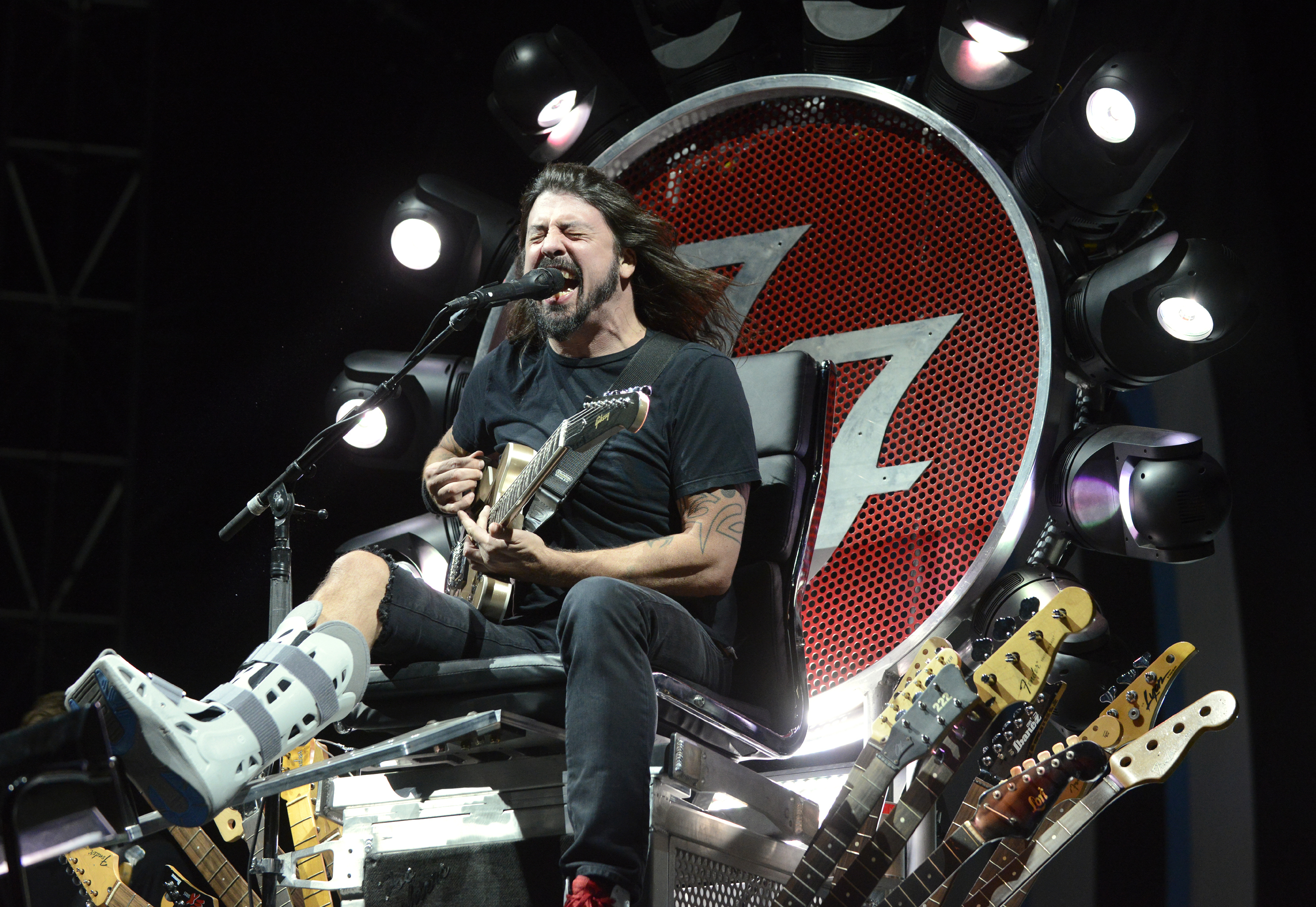 Dave Grohl live mit den Foo Fighters.