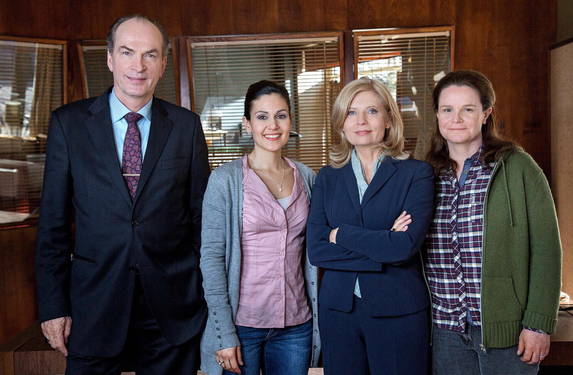 ARD DIE KANZLEI, Hamburger Anwaltsserie (13 Folgen) mit Sabine Postel und Herbert Knaup, ab (08.09.15), dienstags um 20.15 Uh