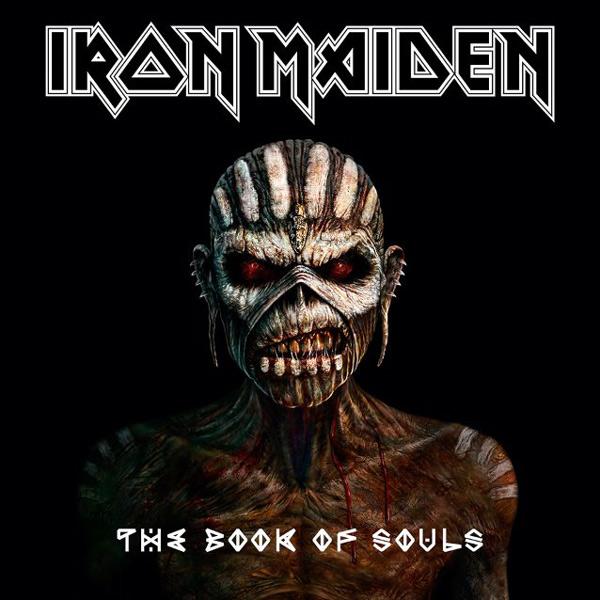 """Das originale Artwork zum Album """"Book of Souls""""."""