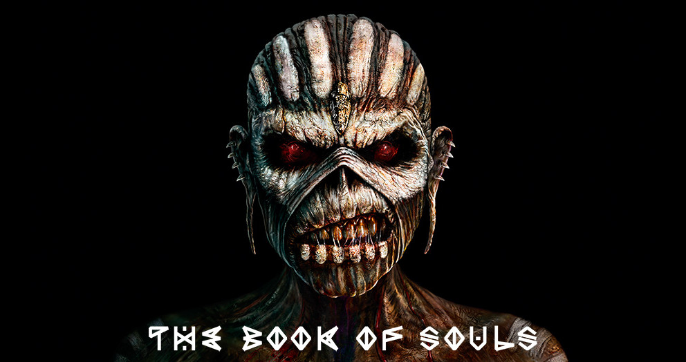 Angsterregend: das Cover von 'The Book Of Souls' von Iron Maiden