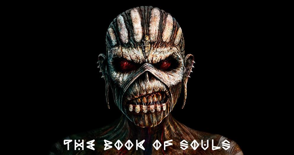 Angsterregend: das Cover von 'The Book Of Souls' von Iron Maiden