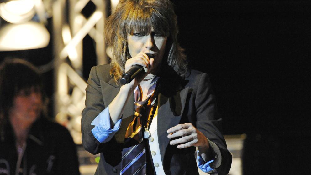 Chrissie Hynde bei einem Konzert mit den Pretenders
