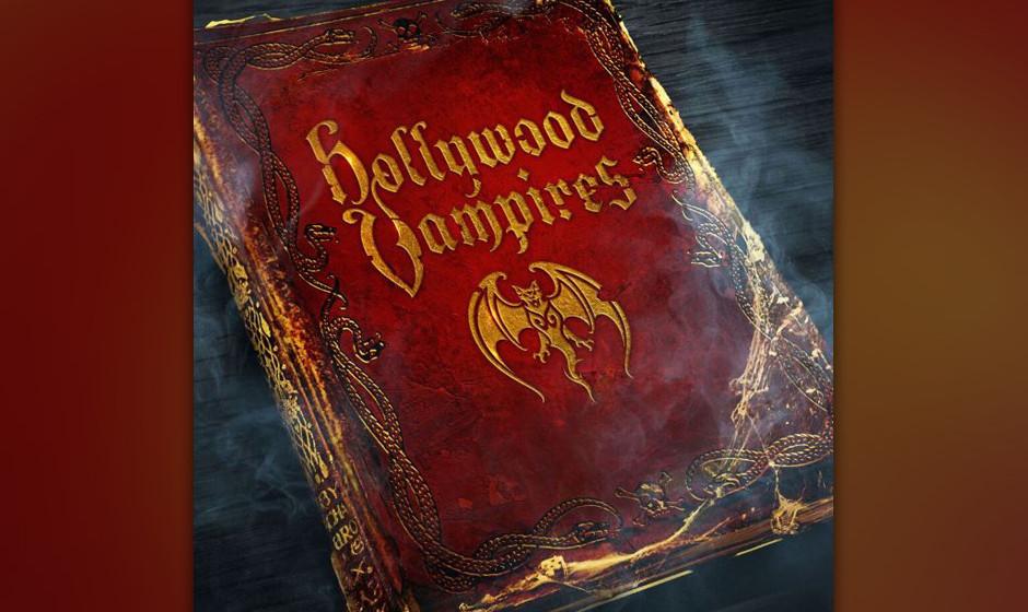 Hollywood Vampires mit dem selbstbetitelten Album von Alice Cooper, Johnny Depp und Co.