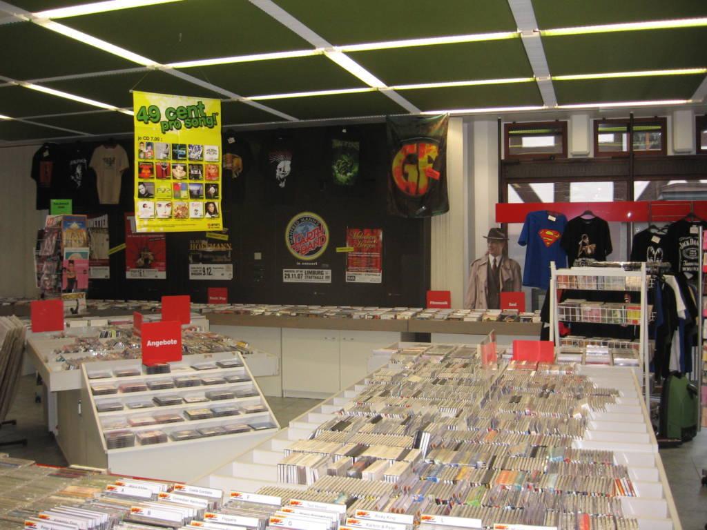 """Der Plattenladen """"MUSICBOX"""" in Dillenburg."""