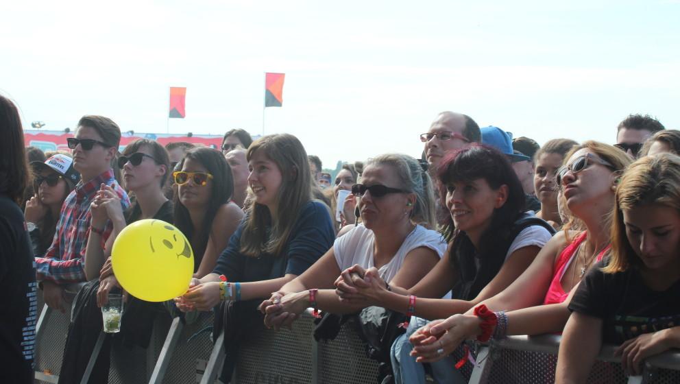 Wolf Alice live beim Lollapalooza 2015